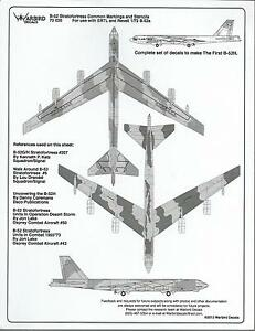 Warbird-B-52-Stratofortress-Walkway-Stencil-Common-Marking-Decals-1-72-020