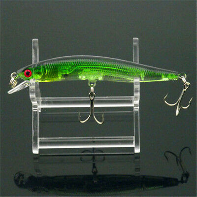 New Lot 1 pcs Kinds of Fishing Lures Crankbaits Hooks Minnow Baits Tackle