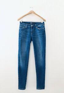 Levi-039-s-Legging-Slim-Fit-Skinny-Stretch-Blue-Jeans-Size-9M-29-034-W-x-30-Inseam