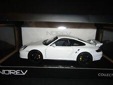 Norev Porsche 911 GT2 997 2007 White 1/18