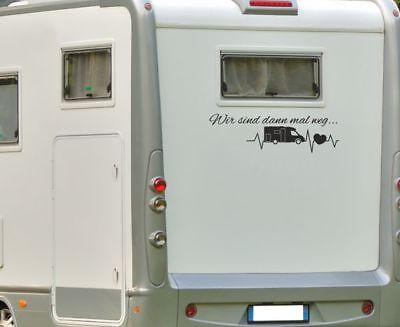 Wohnwagen Aufkleber Wohnmobil In meinem Wohnwagen zu Hause Hotel Gast  ab062 60