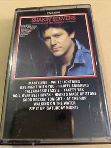 SHAKIN STEVENS AND THE SUNSETS' UK CASSETTE