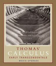 Thomas' Calculus Early Transcendentals by Frank R. Giordano, Joel Hass, George …