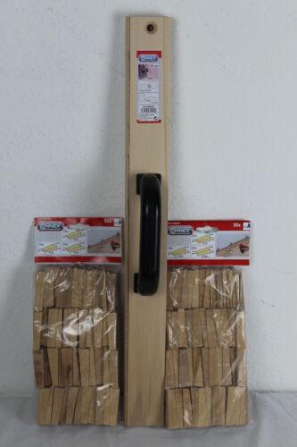 2 X 50x Holzkeile COXT866350 Parkett Laminat Schlagleiste Set COXT866020