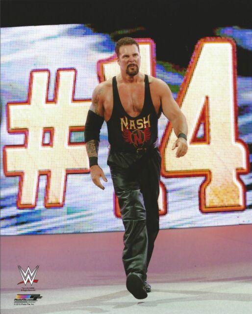 KEVIN NASH WWE WRESTLING 8x10 LICENSED PHOTO NEW #1224