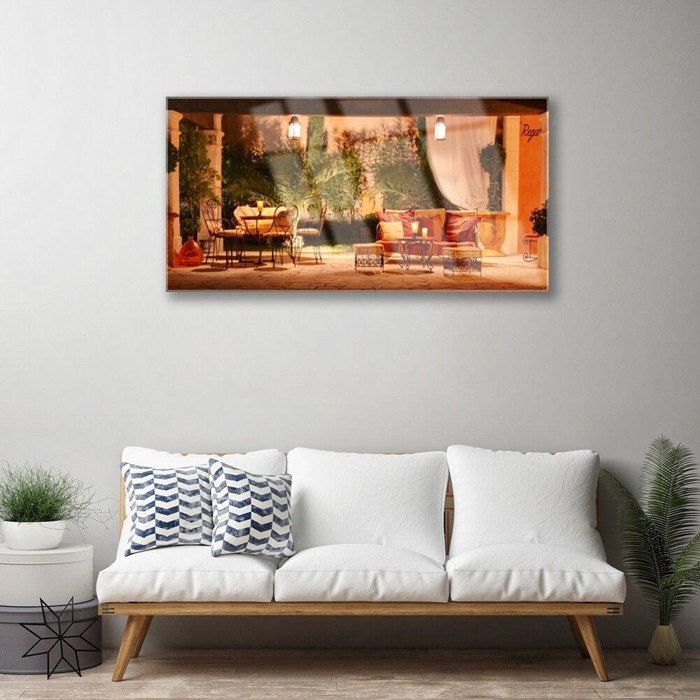 Cadeau de de Cadeau noel Tableau sur Plexiglas® Image Impression 100x50 Architecture Restaurant a8fc56