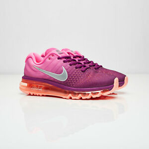 buy popular deda9 84d15 Image is loading New-Women-039-s-Nike-Air-Max-2017-