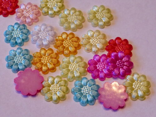 20 Blumen Streudeko  Kartengestaltung Basteln Farbmix  Farbbeispiel