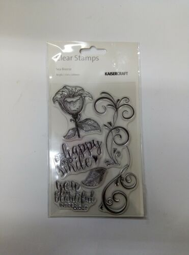 Kaisercraft Sea Breeze Clear Stamp Set CS253
