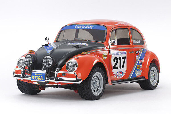 Three Battery Super Deal  Tamiya 58650 VW Beetle Rally 4WD MF-01X RC Kit