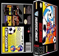 Hurricanes - Snes Reproduction Art Case/box No Game.