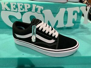 a6532e1c Details about Vans Old Skool COMFYCUSH Black White Kids Women Men All Sizes  4-13 NEW