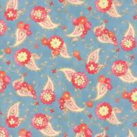 Moda Fabric Nanette Chez Moi 1/2 Yard Bluebonnet 33164 14 100% Cotton