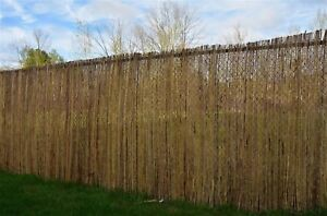 Image Is Loading Willow Screen Fencing Roll Fence 1 8m H X