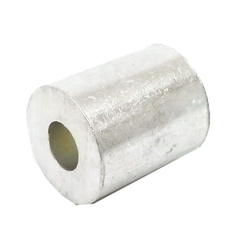 """100ea Aluminum Stops for Wire Rope 1//8/"""""""