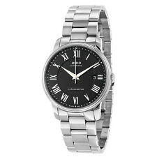 Mido Baroncelli III Automatic Black Dial Stainless Steel Mens Watch