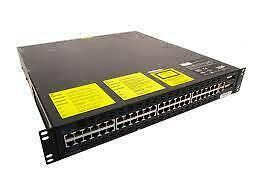 Cisco Catalyst 2948G-L3 Layer 3 Switch - 48 10/100 2 GBIC Slots WS