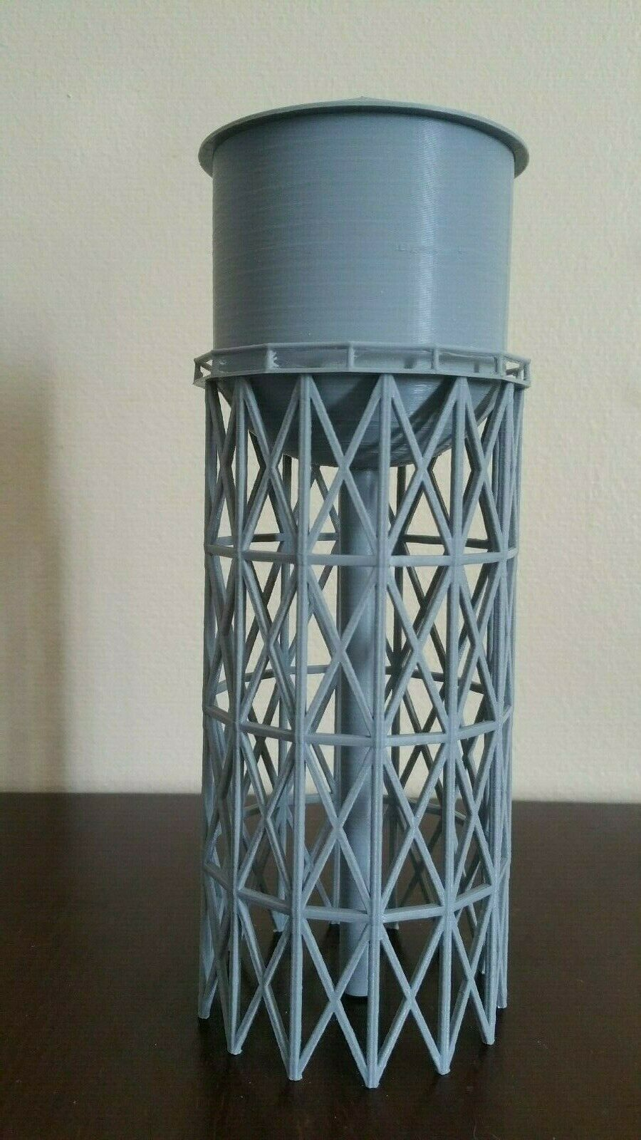 Water Tower Model 8.5  x 3  x 3