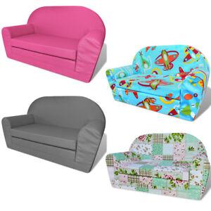Details zu Kindersofa mit Bettfunktion Schlafsofa Kinderzimmer Sofa Sessel  mehrere Auswahl