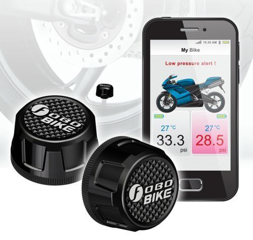 Doelstelling Fobo Bike Bluetooth 4.0 Theft Deterrent Android And Ios Compatible Tire Pressure