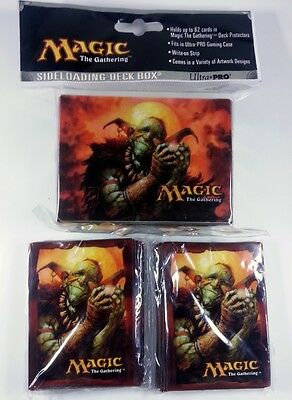 80 Ultra Pro Deck Protector Sleeves + Deckbox - Squee
