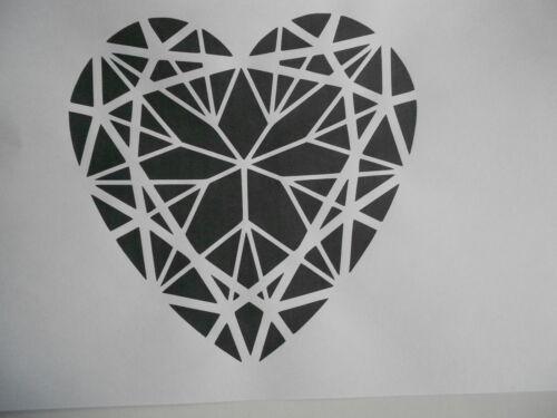Schablone Herz6 auf A4