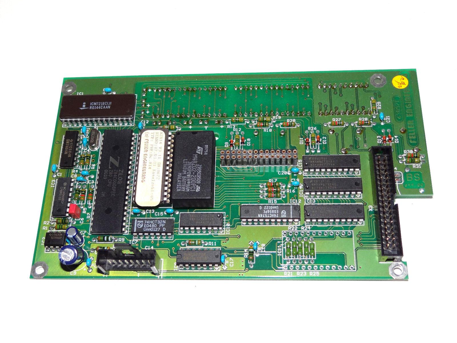 BROWN-BOVERI 07YS80 07YS80//GJR5212100R1 Modul Eingänge Ausgänge Used