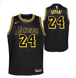 Nba La Lakers Nike Kobe Bryant Black Mamba City Edition Jersey Aj6432 011 Sz 2x Ebay