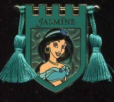 Princess Tapestry Jasmine Banner Tassel Disney Pin