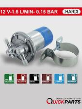 POMPA Carburante Elettrica Universale 12V, 2,17 PSI, 0,15 Bar - 96 L/H-Hardi 13312