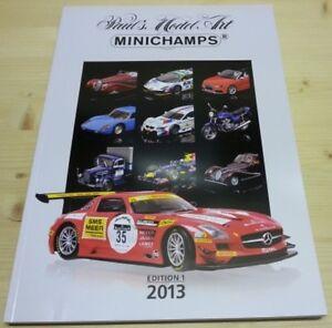 Katalog-Minichamps-2013-Edition-1-Neu