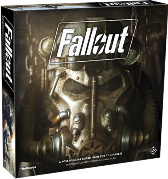 Fallout - Post-Nuclear Aventure Jeu de Société