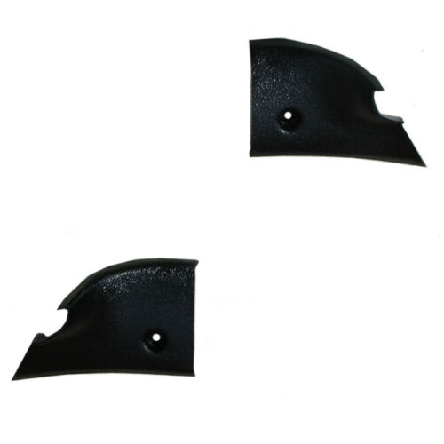 68-72 Skylark Interior Rear Window Headliner Windlace Molding End Cap Corners