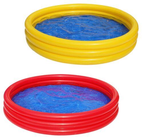 Best Sporting aufblasbarer Pool Planschbecken, 157 x 25 cm, blau, grün oder rot
