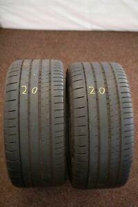 2x-Michelin-Pilot-Super-Sport-MO-265-40-r18-101y-Dot-3416-5-mm-pneus-d-039-ete