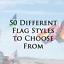 "NEW  1//4/""-5//16/"" Sleeve Neon Pink Pennant Replacement Flag ATV Bicycle Rhino UTV"