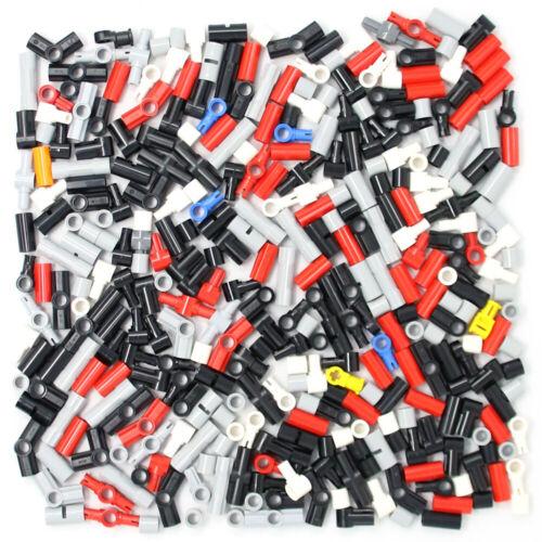 Lego 330x Genuine Technic Connecteurs Raccords Coupleurs noir rouge gris jaune-Neuf