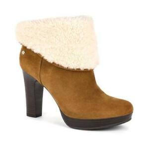 Eu39 Chestnut Dandylion Rrp Leather £160 6 Suede Ugg® Boots 5 Australia Usa Uk 8 fzx5wxqEU