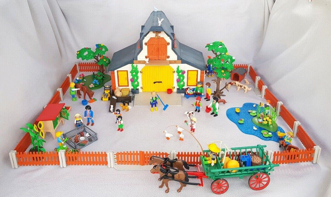 Playmobil Bauernhof 3072 mit Zubehör