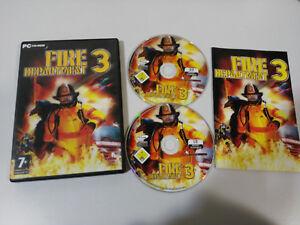 Feuer Department 3 Monte Christus - Set PC Cd-Rom Spanisch