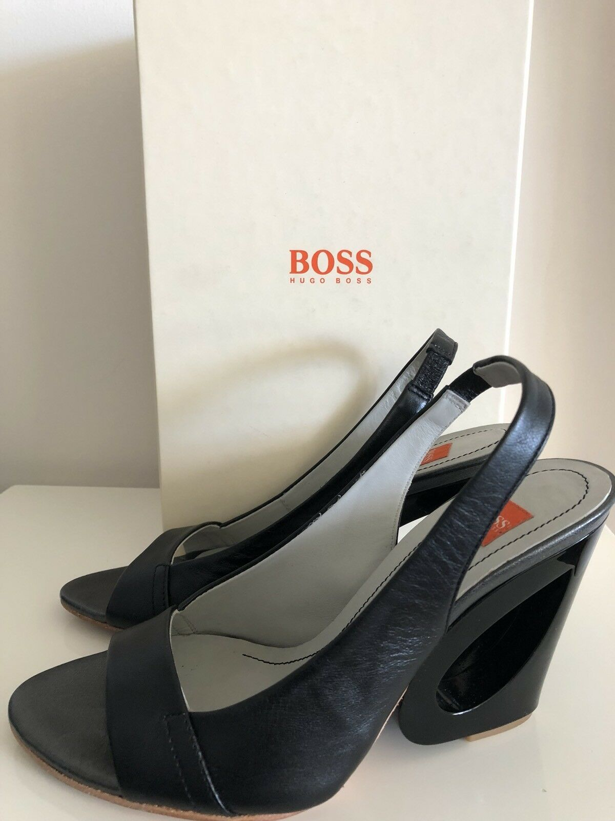 Guess Closed Bivona2 Closed Guess Pointed Toe Strap Open Side Heels 357, Black Multi, 5.5 UK 882818