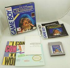 Nintendo Gameboy GB - New Chessmaster - Complete CIB w/ Inserts
