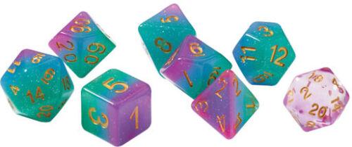 7 Northern Lights SDZ0003-01 SIRIUS DICE RPG Dice Set