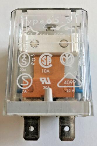 RELE/'  FINDER  65.31  30 Amp 250VAC COIL 12VDC CODE RE483012