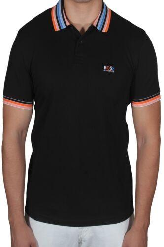 Hugo BOSS Paddy 1 Men/'s Polo Shirt Short Sleeve Regular Fit 50389074 001 Black