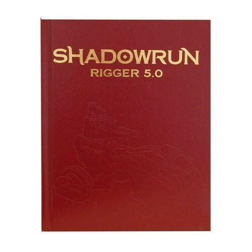 Shadowrun RPG  Shadowrun Rigger 5.0 (Limited Edition) CAT27007LE