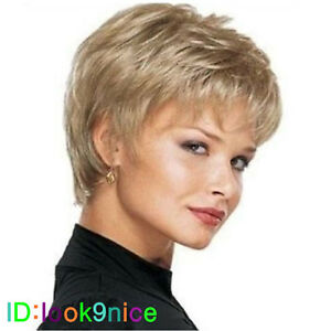 Hot-Wig-Short-Straight-Blonde-Cosplay-party-Wigs-free-wig-cap