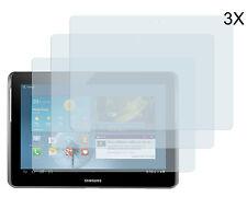 3 x Schutzfolie Samsung Galaxy Tab 2 10.1 P5100 Klar Clear Displayschutz Folie
