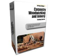 Carpenteria, falegnameria falegname legno lavorazione del legno corso di formazione guida manuale CD