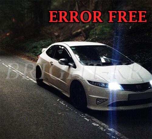 ERROR FREE HONDA CIVIC TYPE R FN2 XENON 6000K WHITE SIDELIGHT LED BULBS